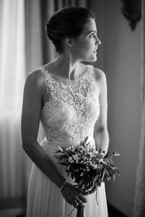 Mira bride wearing Lihi gown