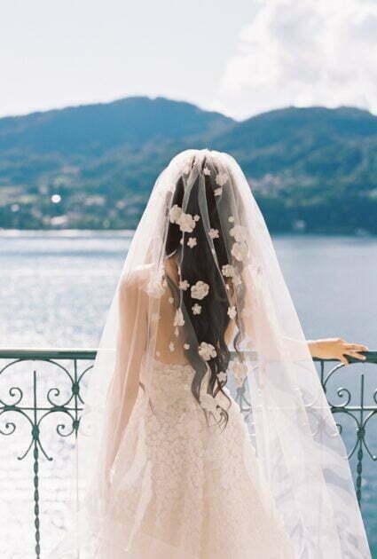 Taylor wearing Gigi gown