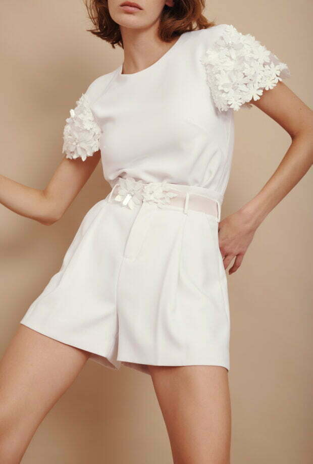 Bianca Short With Flower Belt