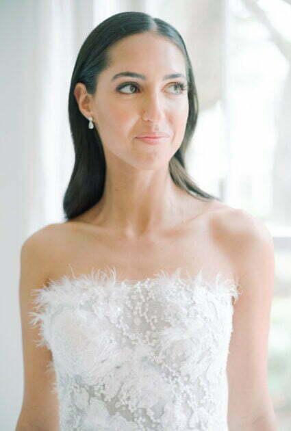 Mariana Wearing Odessa gown
