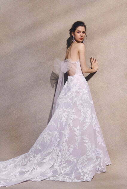 Mira bride <br /> wearing Jamie gown
